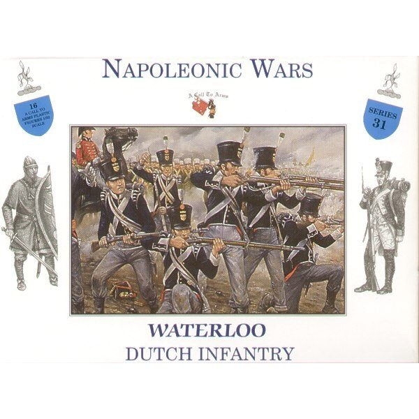 Dutch Infantry Waterloo