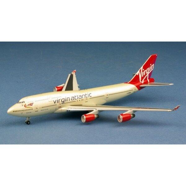 Virgin Atlantic Airways Boeing 747 - 41R G - VWOW