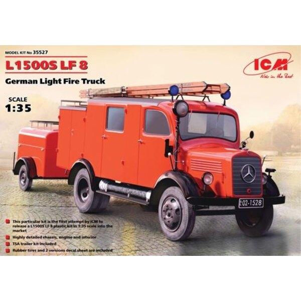 L1500S LF 8 , Fire Truck tedesco Luce