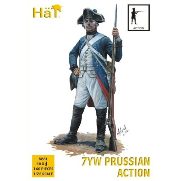 Fanteria prussiano Action Seven Years War/7YW