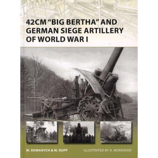 42 centimetri Big Bertha e tedesco Assedio artiglieria della prima guerra mondiale