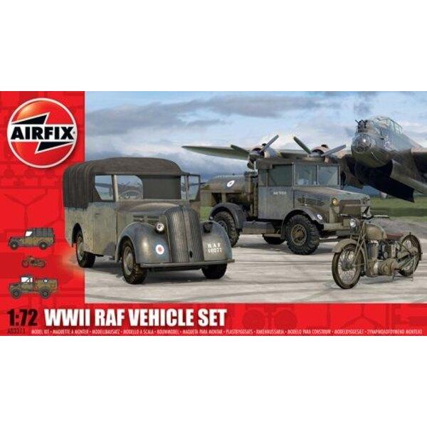 RAF Veicoli La RAF ha utilizzato il Tilly , Bedford e BSA M20 moto in questa serie sono tutti i requisiti per la TIC Molte basi