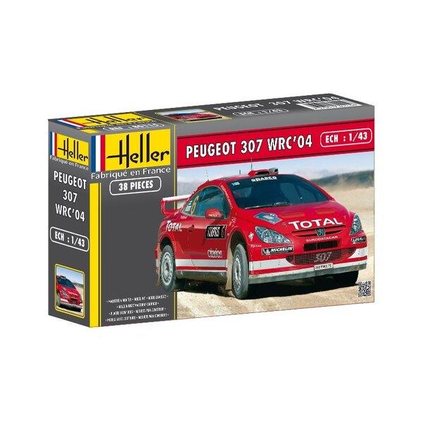 Peugeot 307 WRC 2004 1:43