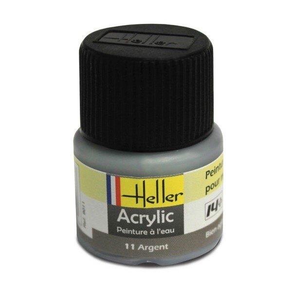 Silver Acrylic 0.5 fl.oz