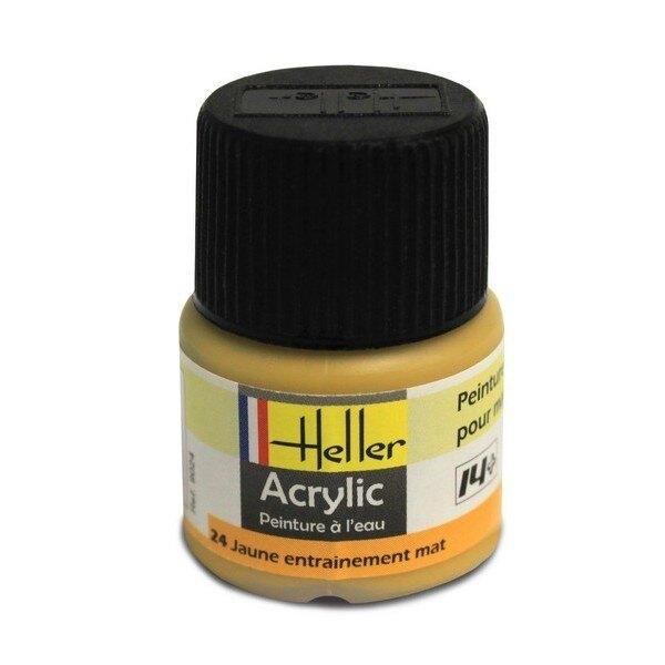 Yellow acrylic Training Mat 0.5 fl.oz