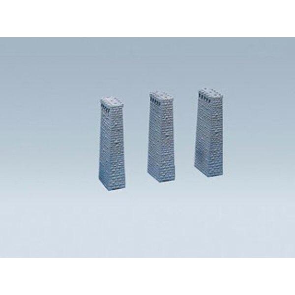 Pilastri del viadotto 3pcs