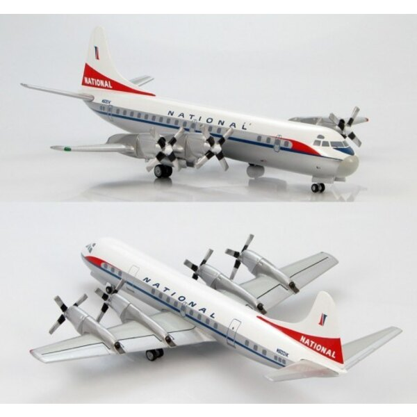 Lockheed L - 188 Electra National Airlines (Schema finale )