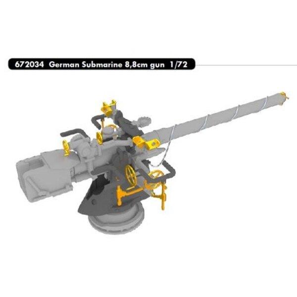 German Submarine gun 8,8 centimetri (progettato per essere utilizzato con i kit Revell)
