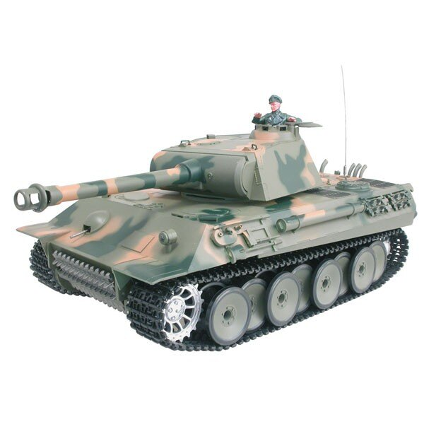 Serbatoio RC 1/16 GERMAN PANTHER COMPLETO