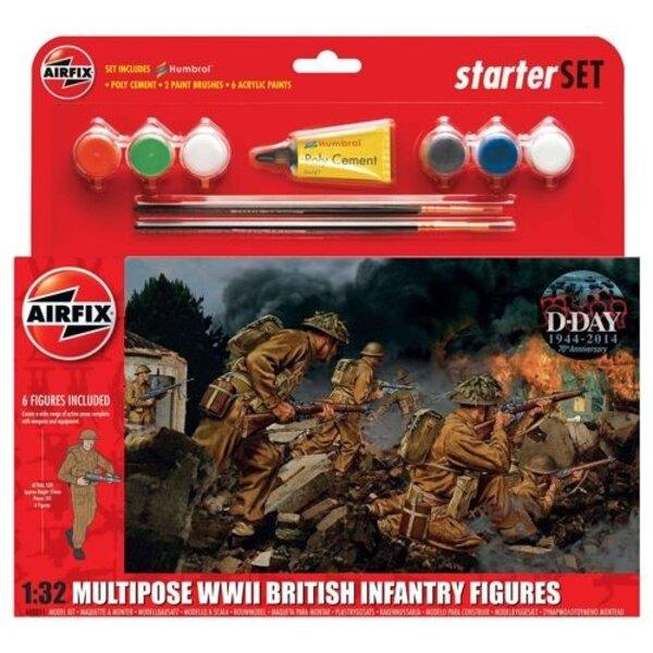 WWII britannico fanteria multipla-up Gift Set