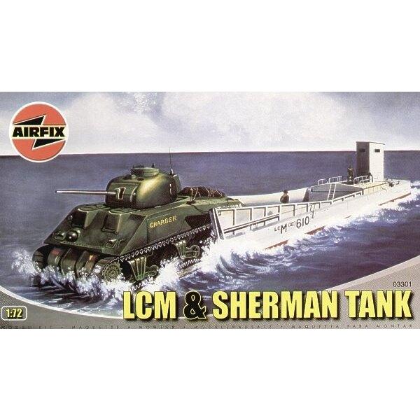 LCM 3 Landing Craft & MK.II Sherman