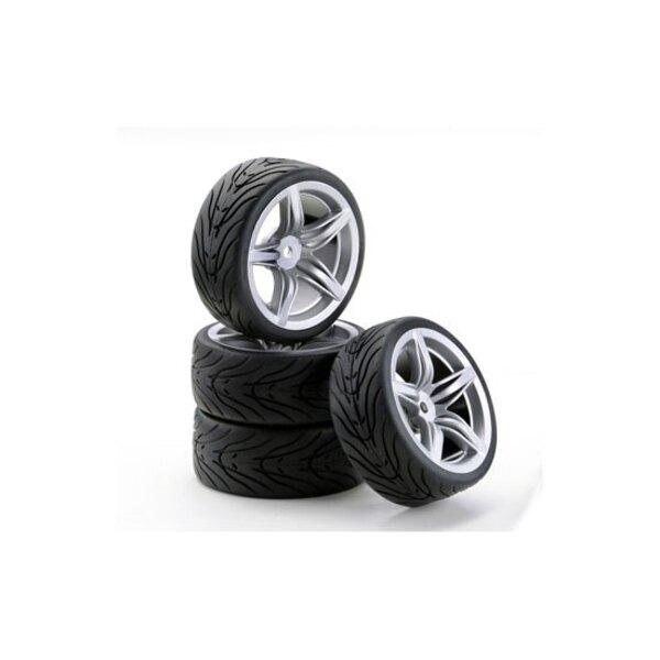 F12 ruote stile argento