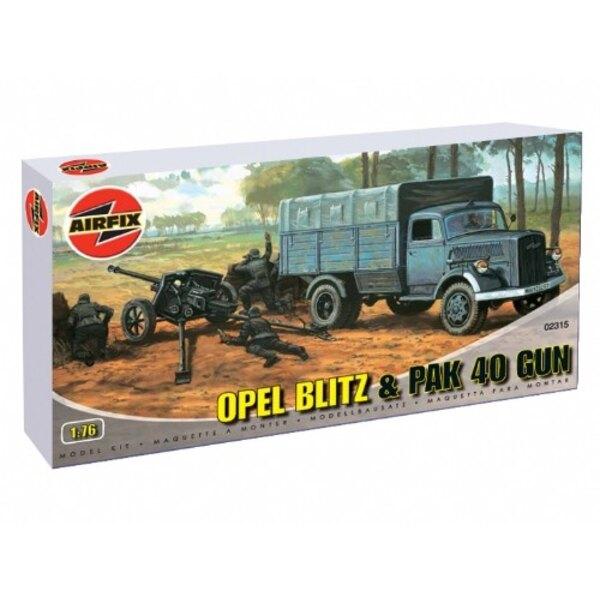 Opel Blitz a PAK field gun
