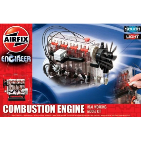 Internal Combustion Engine. Real working model Kit. with light and sound. This fantastic engine is a great way to learn all abou