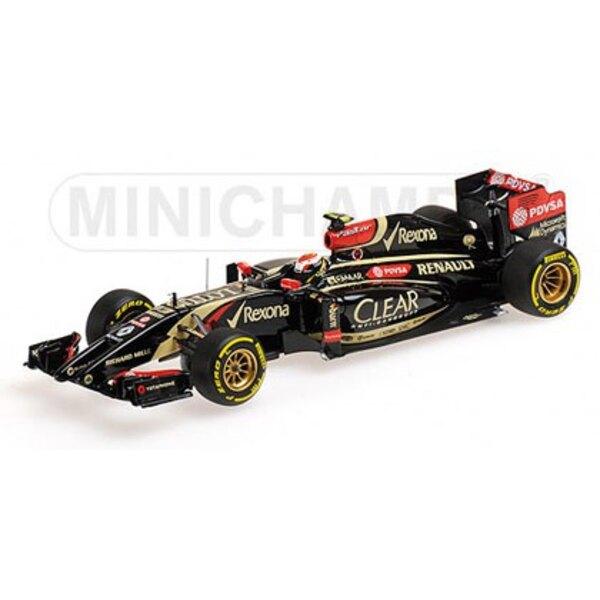 Lotus E22 Maldonado