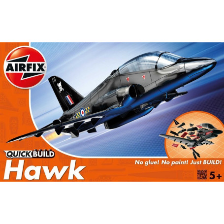 Hawk Quick Build (No glue or paint required)