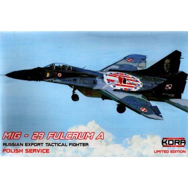 Mikoyan MiG-29 Fulcrum A Service polacco