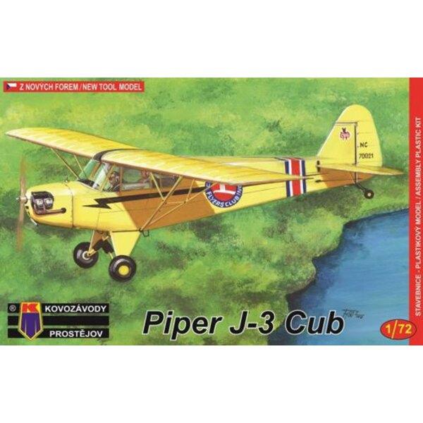 Piper J-3 (tutti i nuovi kit di stampi di metallo)