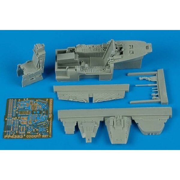 Fairchild A-10 Thunderbolt II cockpit set (designed to be used with Hobby Boss model kits)