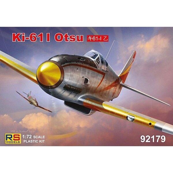 Kawasaki Ki-61 I Otsu Il Ki-61 Hien / Tipo 3 Fighter / era l'unico combattente giapponese powered by raffreddato a liquido anno,