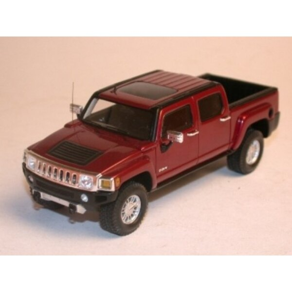 HUMMER H3T 2008 Rosso