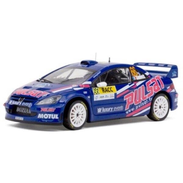 PEUGEOT 307 WRC 66 SNOBECK/MONDESIR RALLYE CATALOGNE 2009 (EPUISE)
