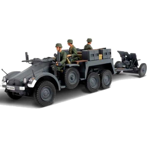 Kfz.69 Pak 36 rimorchiato