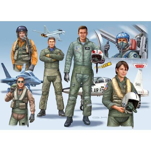 Pilotes modernes (Etats-Unis / Royaume-Uni / Allemagne)