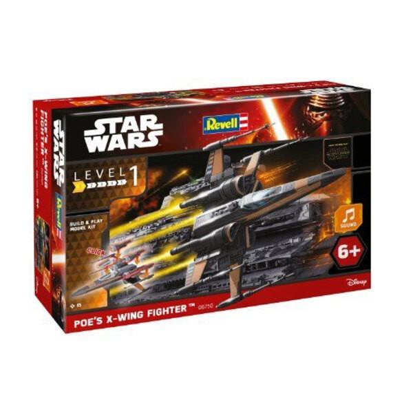 Di Poe X-Wing Fighter (TM) Costruire & Play Luci / Serie Suono