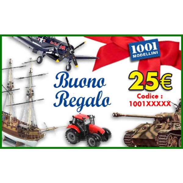 Buono regalo di 25 euro