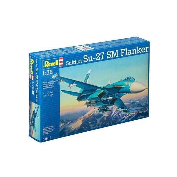 Model Set Sukhoi Su-27 SM Flanker