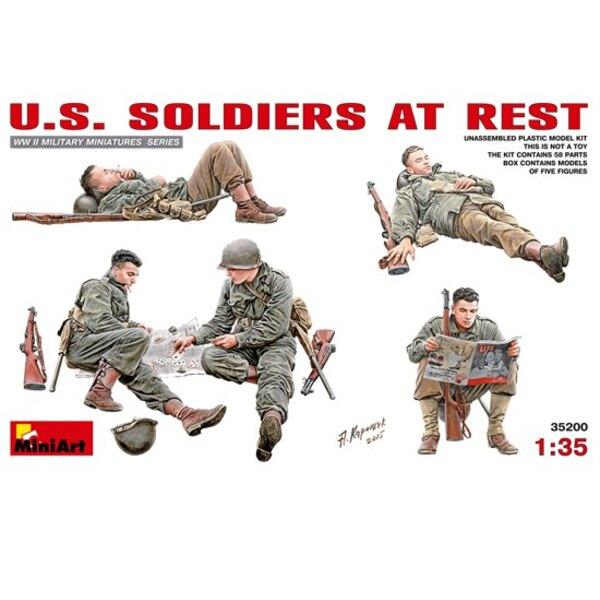 Soldati americani a riposo