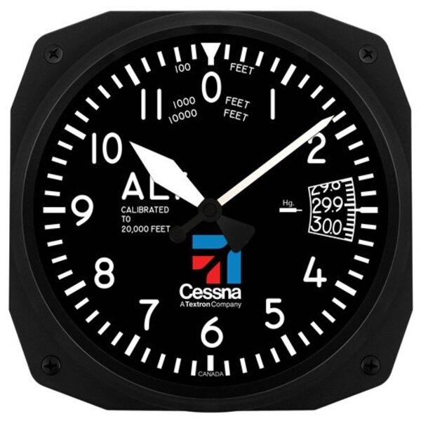 Cessna Altimetro parete 25x25cm orologio