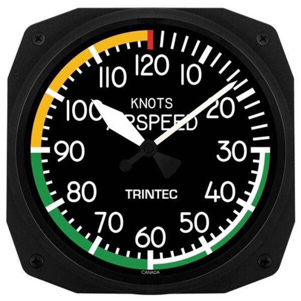 Airspeed 25x25cm Orologio da parete