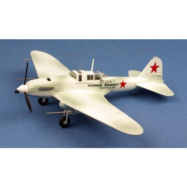 Ilyushin Il-2 CCCP Inverno livrea - 1942