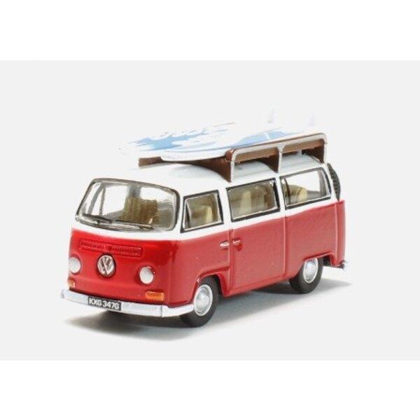 VW VAN Bovindo ROSSO / BIANCO CON LA SCHEDA