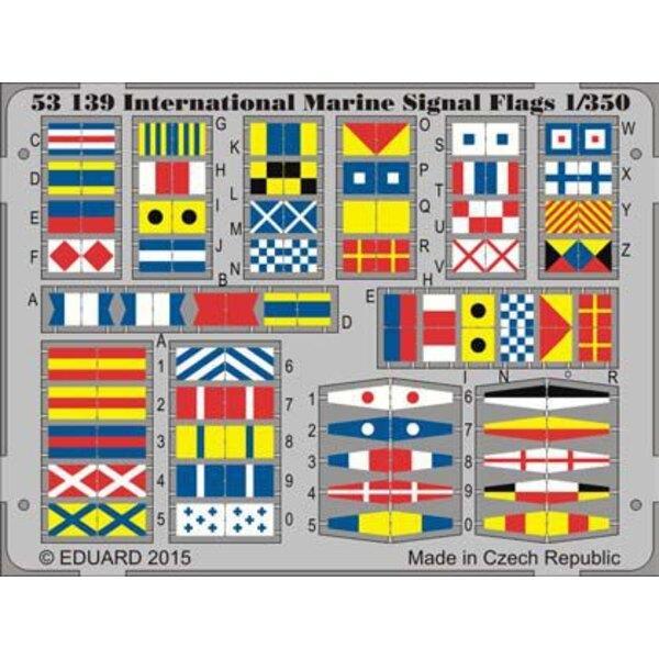 Bandiere internazionale segnale Marine