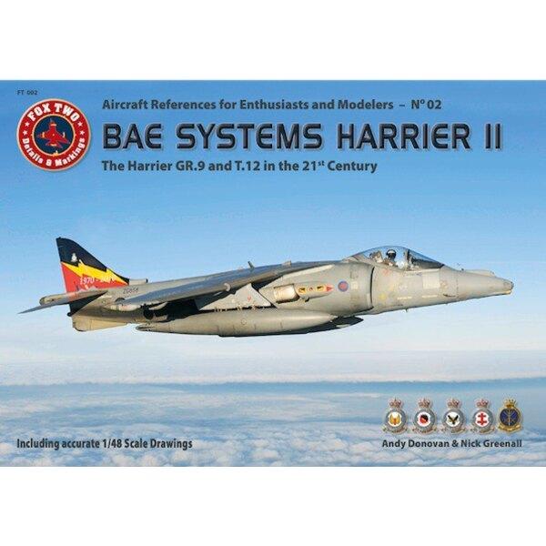 Libro La BAE Systems Harrier II - Il GR.9 e T.12 nel panorama 21 CenturySized A4, copertina morbida, inglese e tedesco di testo,