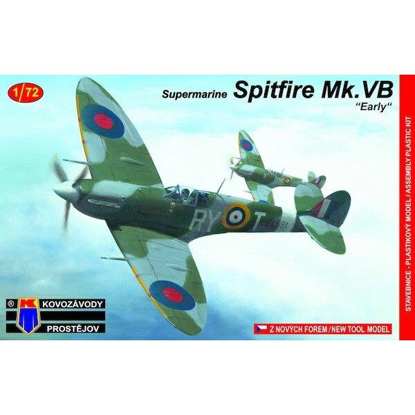 Supermarine Spitfire Supermarine Mk.VB Early cecoslovacco Sq.a RAF (nuove attrezzature)