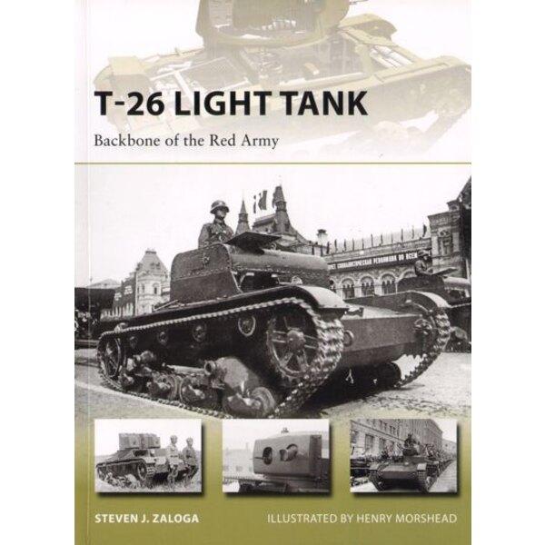 Russo T-26 Tank Light: Backbone dell'Armata Rossa (nuova avanguardia serie)