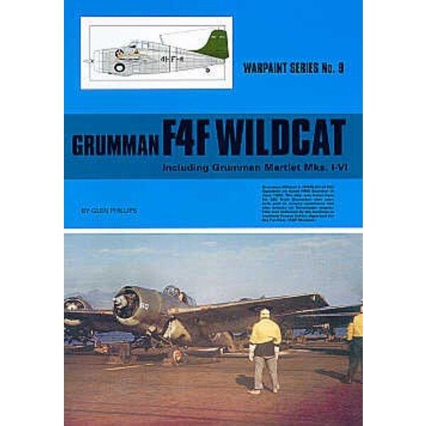 Libro Grumman F4F Wildcat compreso Martlet Mk.I / Mk.VI (Hall Park Books Limited) [F4F-4 Wildcat FM-2 F4F-3 F4F-3P F4F-3S G-36A