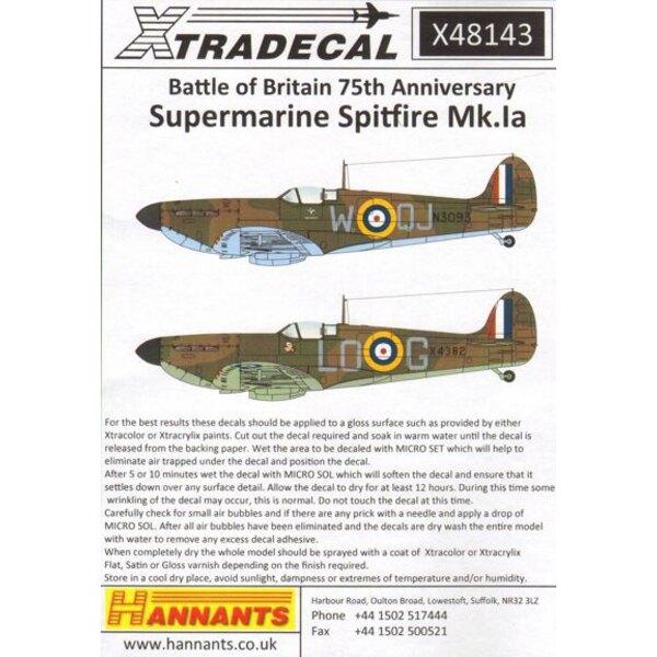 Supermarine Spitfire Mk.Ia Battaglia d'Inghilterra 1940 Pt.1 (6) R6776 QV-H 19 Sqn Ft / sergente George Unwin RAF Fowlmere - Unk