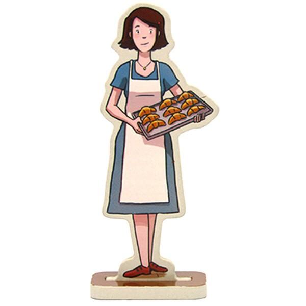 Madeleine the baker