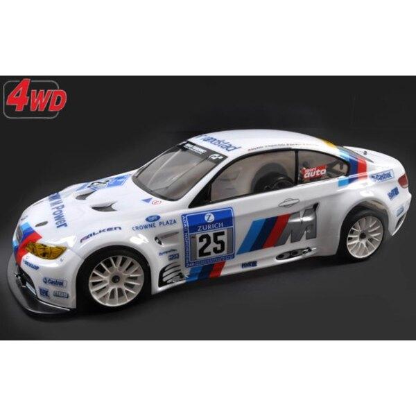 4wd RTR cornice 530E + carro BMW M3