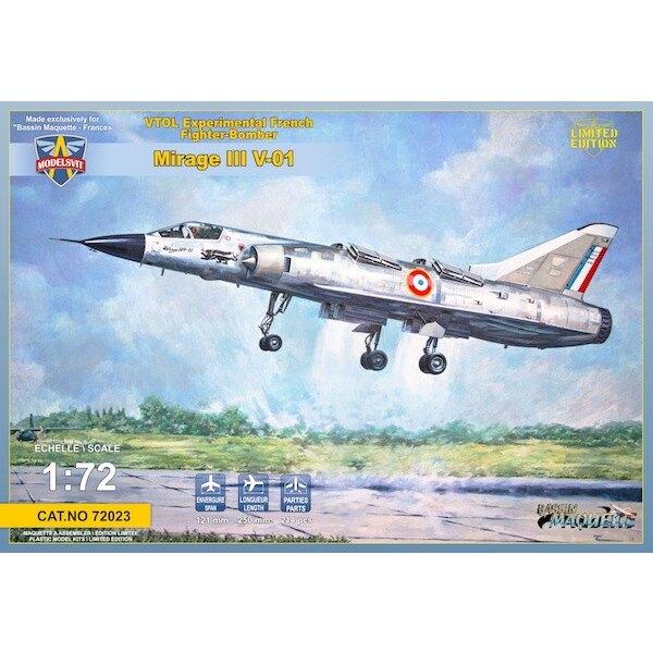 Dassault Mirage III V-01 VTOL Francese
