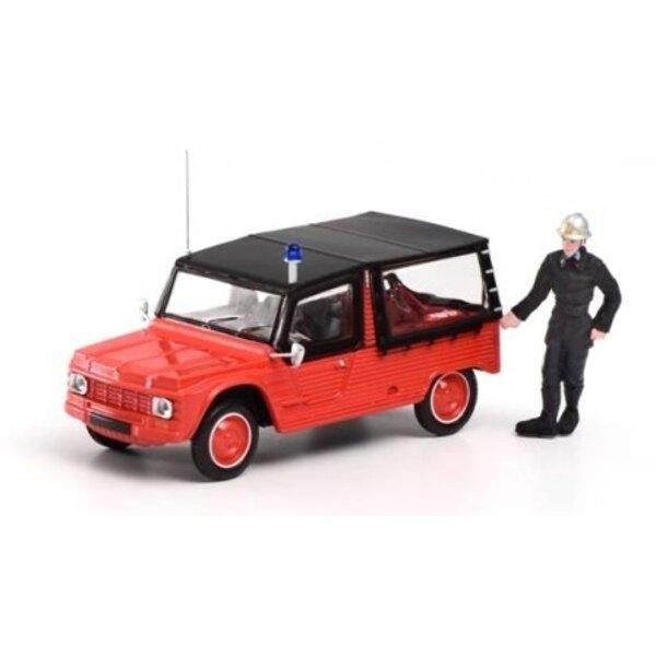 Citroën Méhari POMPIERE CON LA FIGURA