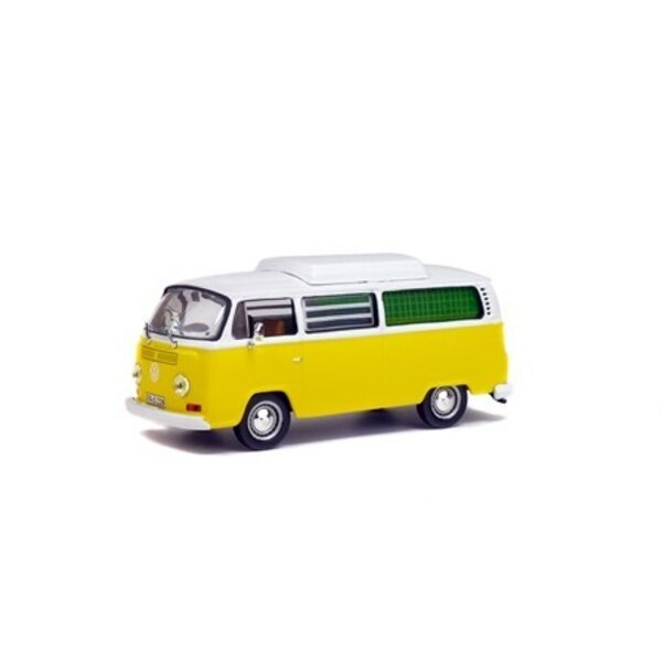 COMBI VW T2 1972 CAMPING GIALLO