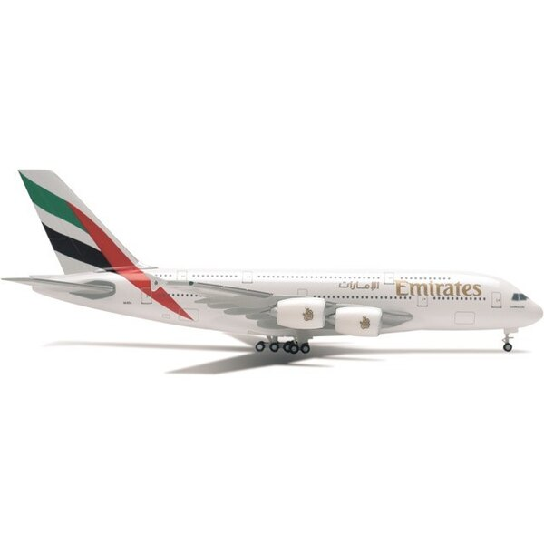Emirates Airbus A380-800 A6-E0E (metallo)
