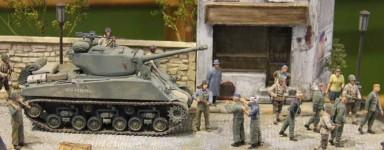 Kit modello di carri armati