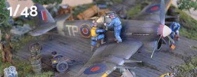 Kit modello di aerei 1:48